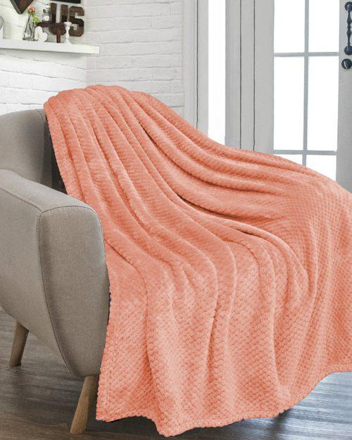Κουβέρτα Coral σε 5 χρώματα