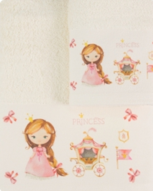 Πετσέτες Σετ 2 τεμαχίων Πριγκίπισσα