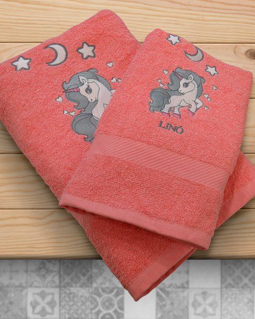Πετσέτες Σετ 2 τεμαχίων Μονόκερος