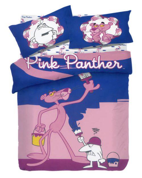 Σετ Παιδικά Σεντόνια Pink Panther