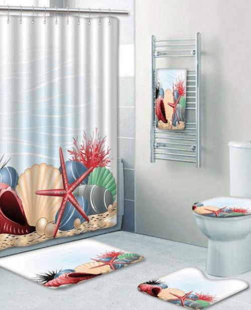 Κουρτίνες Μπάνιου