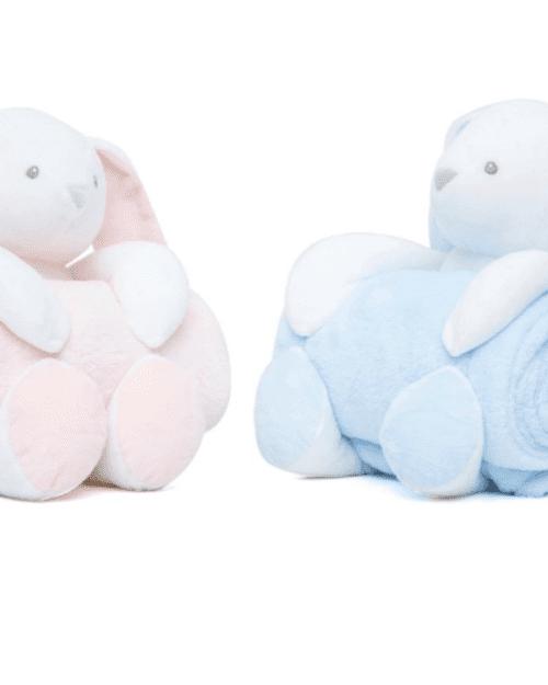 Κουβέρτα Αγκαλιάς Σετ Κουκλάκι Bunny