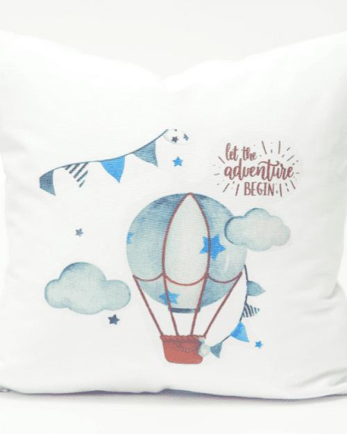 Μαξιλάρι Διακοσμητικό Printed Αερόστατο