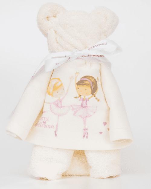 Πετσέτα Αρκουδάκι Little Ballerina