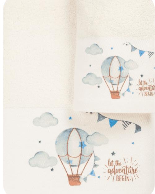 Πετσέτες Σετ 2τεμαχών Αερόστατο
