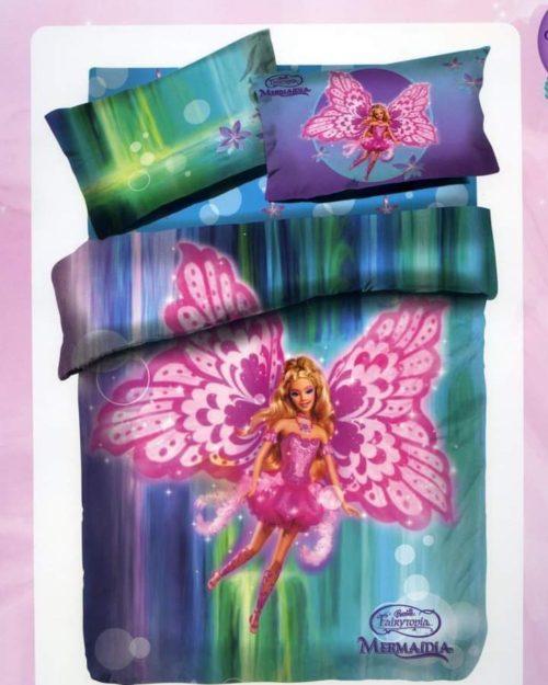 Σετ Παιδικά Σεντόνια Barbie Marmaidia
